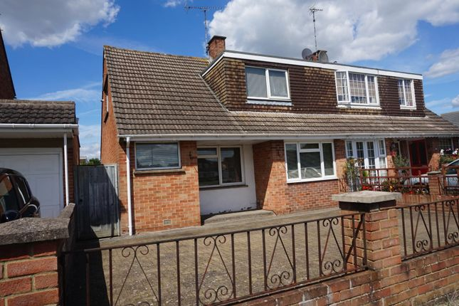 Thumbnail Semi-detached house for sale in Chalford Avenue, Swindon