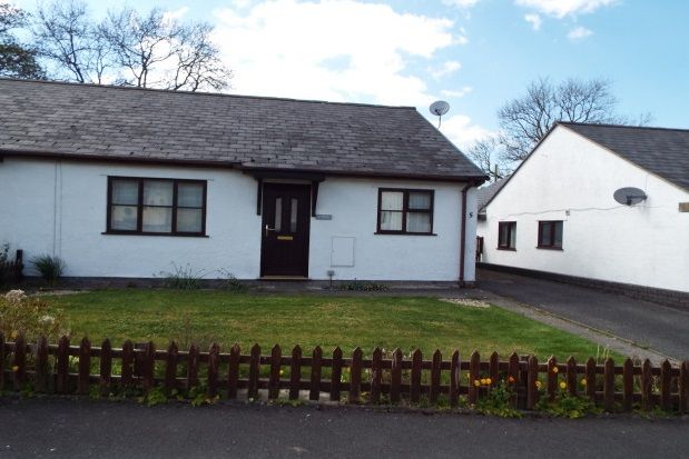 Thumbnail Semi-detached bungalow to rent in Garreg Lwyd, Gwyddelwern, Corwen