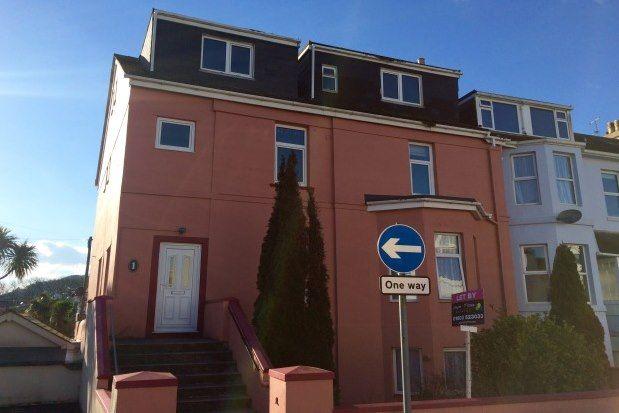 Thumbnail Studio to rent in 1 Queens Road, Paignton