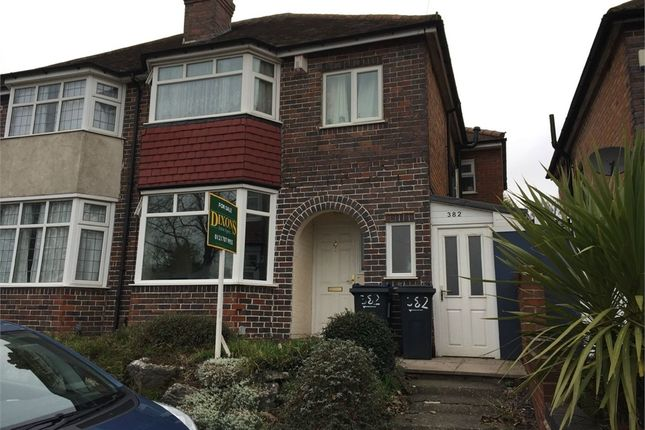 Thumbnail Semi-detached house for sale in Shirley Road, Acocks Green, Birmingham, West Midlands