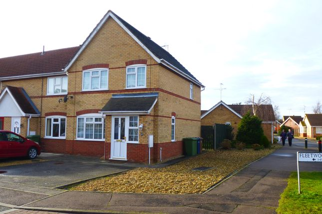 Thumbnail Terraced house to rent in Fleetwood Close, March