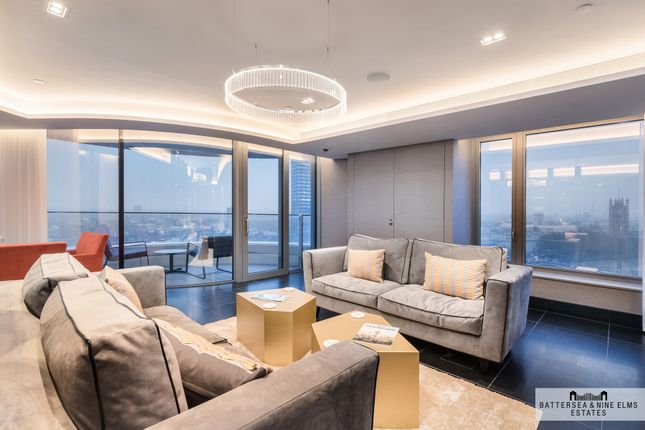 Thumbnail Flat for sale in Albert Embankment, London