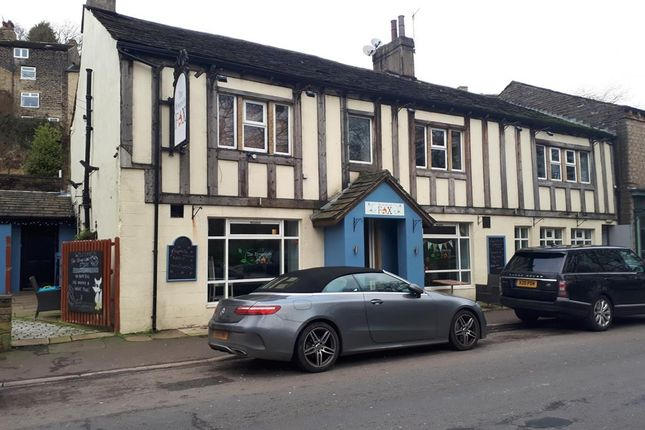 Thumbnail Commercial property for sale in Former Fox Bar & Bistro, 46-50 Oldham Road, Ripponden, Sowerby Bridge