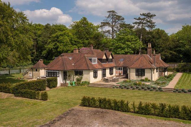 Thumbnail Detached house for sale in Little Somborne, Stockbridge