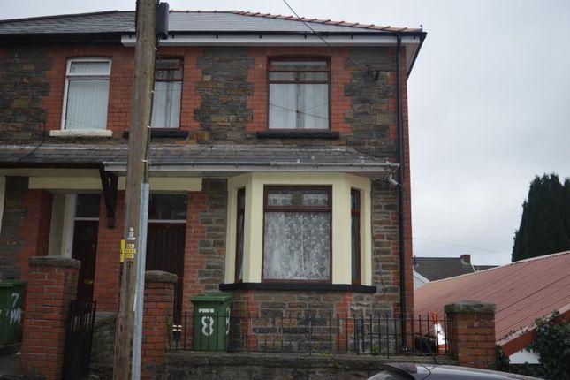 Thumbnail Terraced house to rent in Gwyn Street, Treforest, Pontypridd