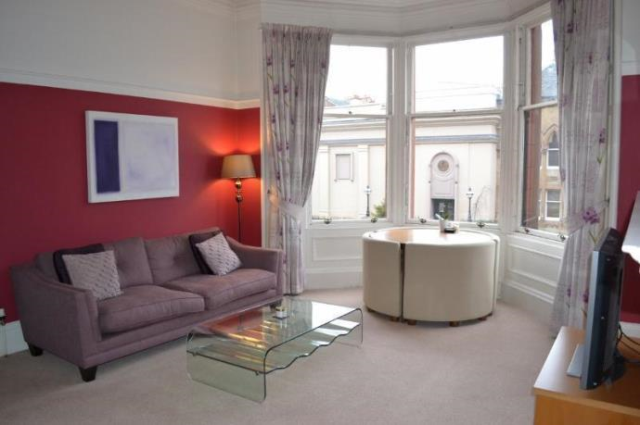 Thumbnail Flat to rent in 0/1 At 23 Cranworth Street, Glasgow