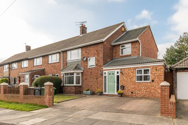 3 bed semi-detached house for sale in Harewood Crescent, West Monkseaton, Whitley Bay NE25