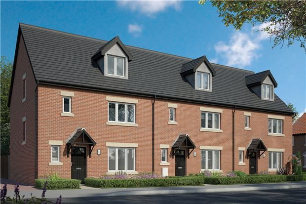 Thumbnail End terrace house for sale in Meerbrook Way, Quedgeley, Gloucester
