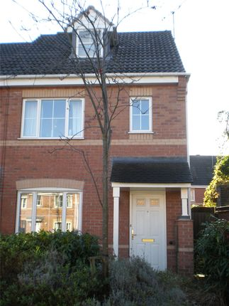 Thumbnail End terrace house for sale in Peckstone Close, Parkside, Coventry, West Midlands