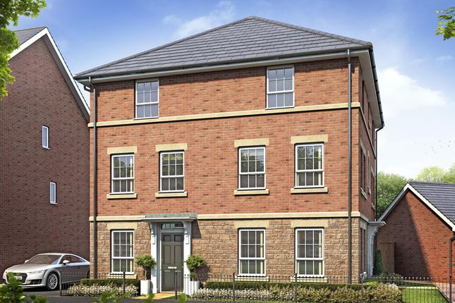 "Thumbnail Semi-detached house for sale in ""Faversham Special"" at Melton Road, Edwalton, Nottingham"