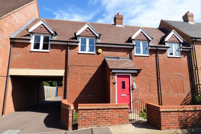 Thumbnail Terraced house for sale in Peacock Gardens, Wixams