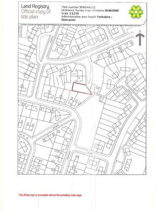 Land Registry of Cedar Avenue, Mexborough S64