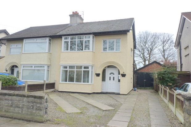 Thumbnail Semi-detached house to rent in Elgar Avenue, Eastham, Wirral