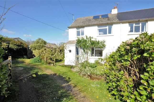 Thumbnail Semi-detached house for sale in Darracott, Welcombe, Devon