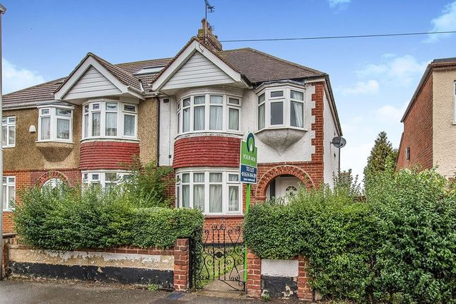 Thumbnail Semi-detached house to rent in Wallace Road, Rochester