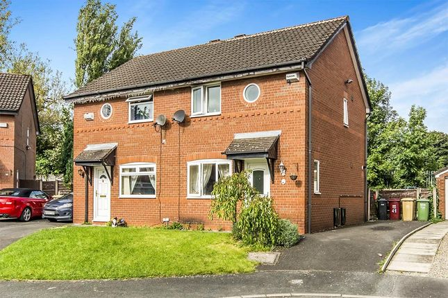 Thumbnail Semi-detached house for sale in Ashby Close, Farnworth, Bolton