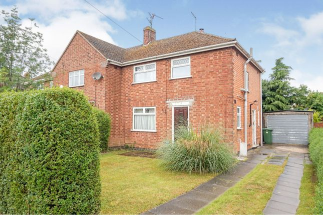 Thumbnail End terrace house for sale in Rowlett Road, Corby