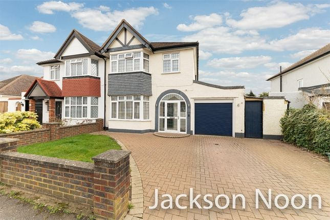 Thumbnail Semi-detached house for sale in Riverview Road, Ewell, Epsom