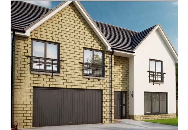 "Thumbnail Detached house for sale in ""Sienna Garden Room Mearns Green"" at Eagle Avenue, Newton Mearns, Glasgow"