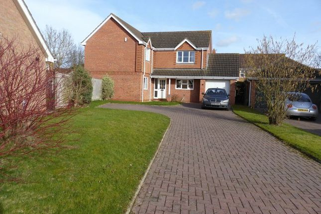 Thumbnail Detached house for sale in Vasey Close, Saxilby, Lincoln
