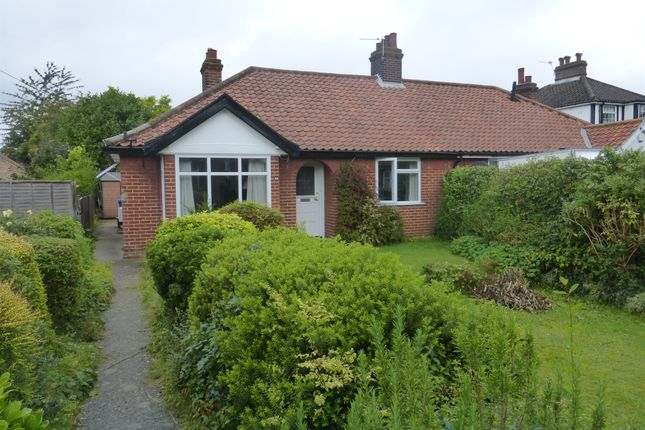 Thumbnail Semi-detached bungalow for sale in Brian Avenue, Norwich