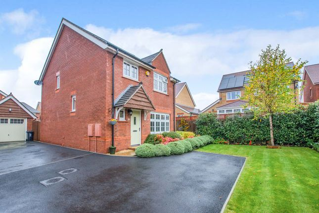 Thumbnail Detached house for sale in Lady Margaret Hall Close, Newport