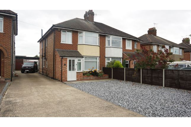 Thumbnail Semi-detached house to rent in Townsend Lane, Rugby