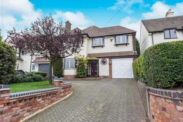 Thumbnail Detached house for sale in Little Aston Lane, Sutton Coldfield, West Midlands