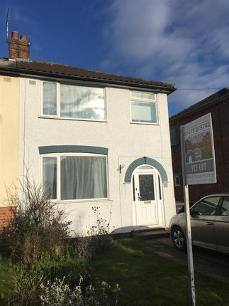 3 bed property to rent in Fairfield Road, Ipswich
