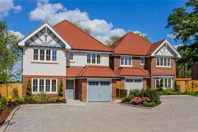 Thumbnail Detached house for sale in Fern Acre Gardens, Jackets Lane, Northwood, Middlesex