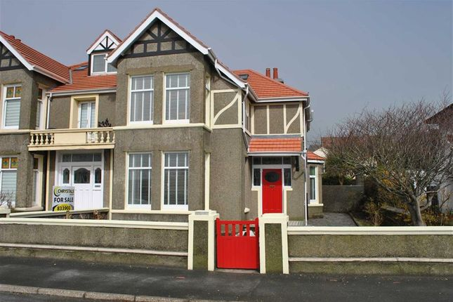 4 bedroom semi-detached house for sale in Bay View Road, Port Erin, Isle Of Man