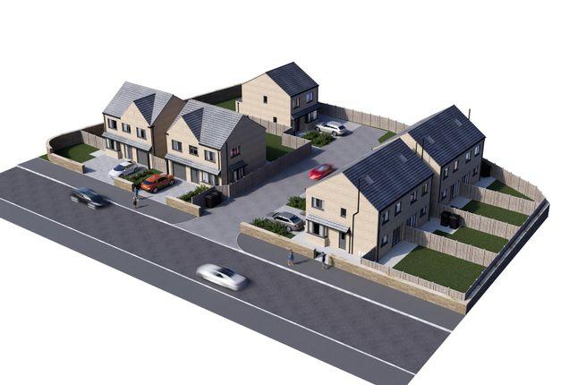 CGI Site Plan of Cowrakes Road, Huddersfield HD3
