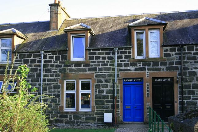 Thumbnail Terraced house for sale in Laggan View, Station Road, Comrie