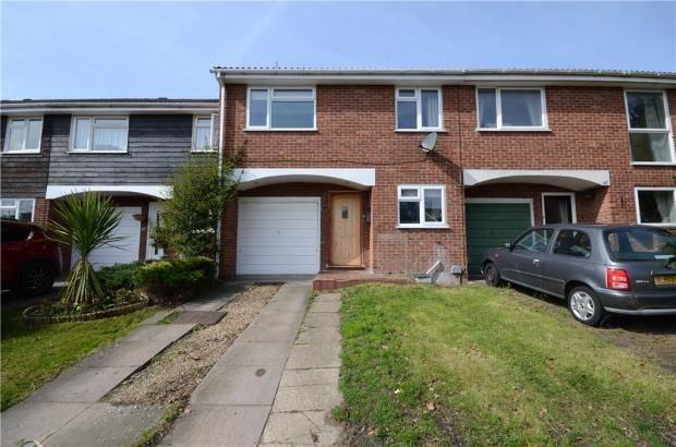 Thumbnail Terraced house for sale in Woburn Avenue, Farnborough, Hampshire