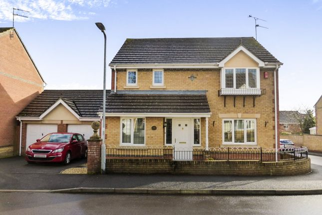 Thumbnail Detached house for sale in Jasmine Close, Yeovil