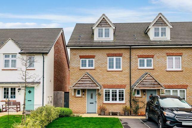 Thumbnail End terrace house for sale in Furs Close, Monkton Heathfield, Taunton