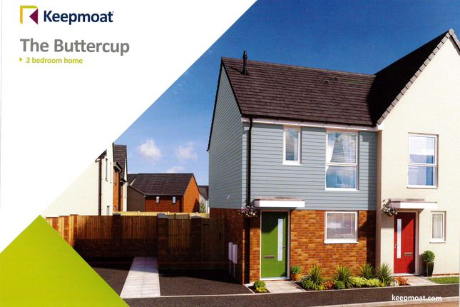 Thumbnail Semi-detached house to rent in 12 Cambrian Way, Off Eaves Lane, Bucknall