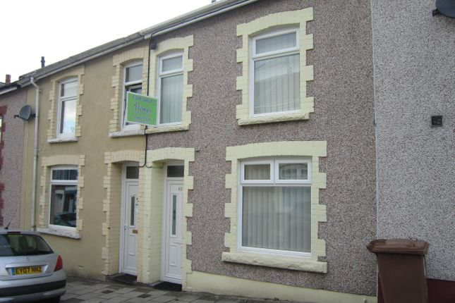 Thumbnail Terraced house for sale in Church Street, Aberbargoed