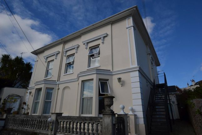 Thumbnail Flat to rent in New Road, Brixham