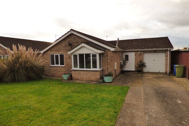 Thumbnail Detached bungalow to rent in Newbolt Close, Caistor, Market Rasen