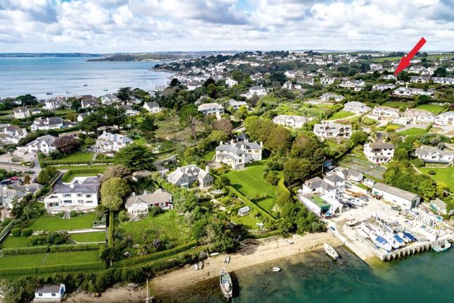 Drone Location of Penruan Lane, St. Mawes, Truro TR2