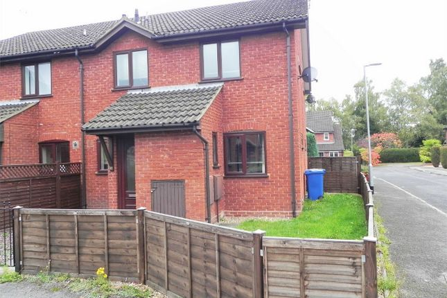 Thumbnail End terrace house to rent in Horsham Road, Owlsmoor, Berkshire
