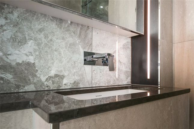 Bathroom of Carrara Tower, 250 City Road, London EC1V
