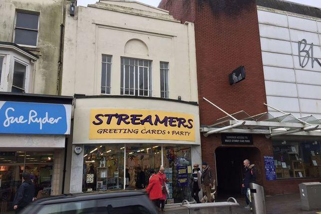 Thumbnail Retail premises for sale in Union Street, Torquay