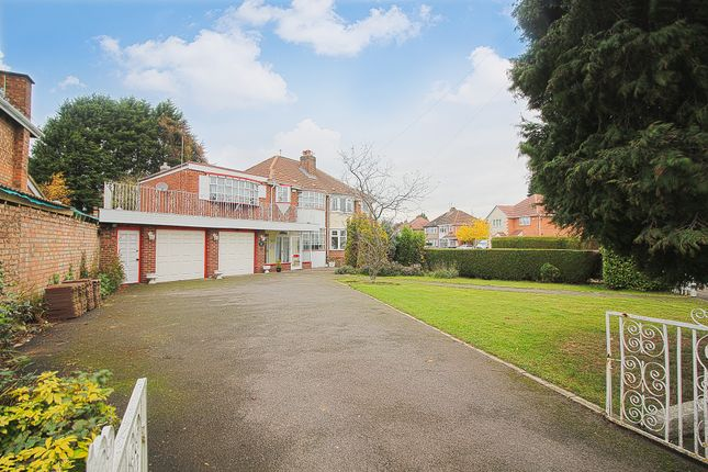 Thumbnail Semi-detached house for sale in Valley Road, Solihull