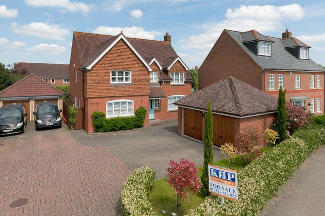 Thumbnail Detached house for sale in Sandringham Court, Admiral Way, Kings Hill, West Malling