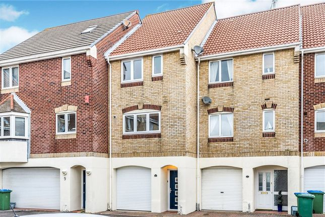 Thumbnail Town house for sale in Pacific Close, Ocean Village, Southampton