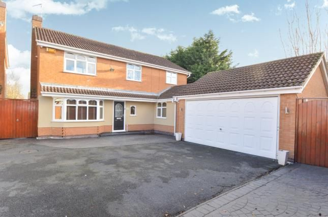 Thumbnail Detached house for sale in Swallow Drive, Syston, Leicester, Leicestershire