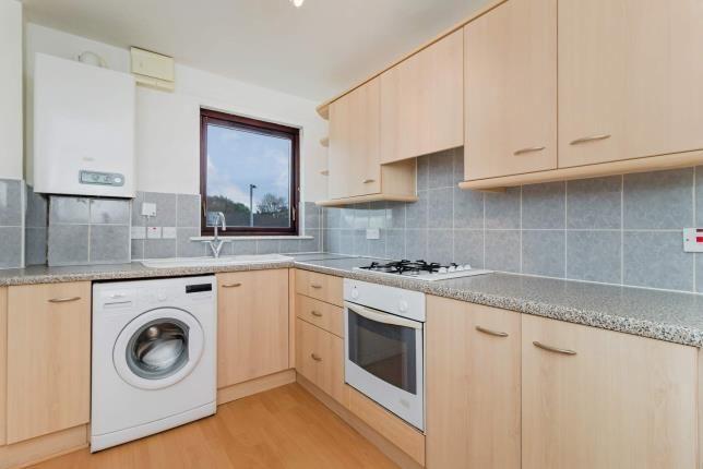 Kitchen of James Street, Dalry, North Ayrshire, Scotland KA24