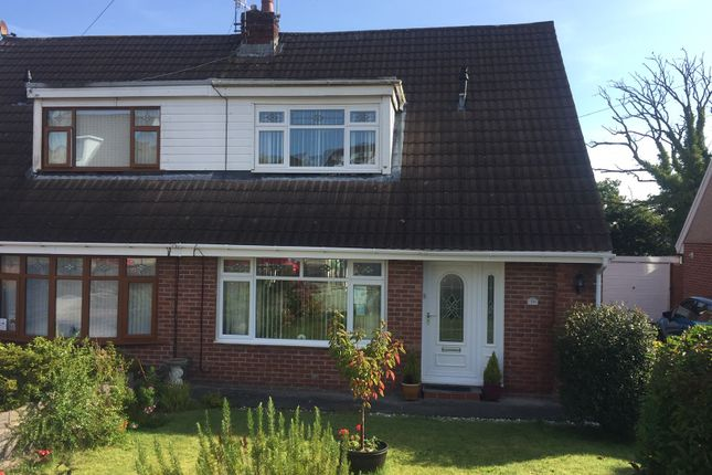 Thumbnail Semi-detached bungalow for sale in Cleviston Park, Llangennech, Llanelli